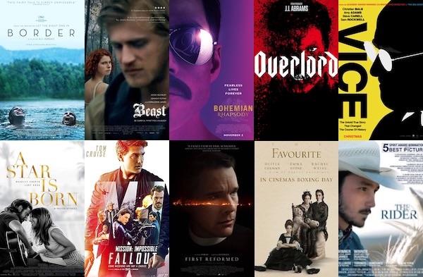 Victoria Alexander's 2018 Top 10 Movies
