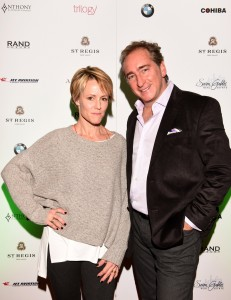 """PARK CITY, UT - JANUARY 24: Actress Mary Stuart Masterson and President and CEO of Rand Luxury Bradford Rand attend Rand Luxury Hosts """"As You Are"""" At The Luxury Lounge At The St. Regis During Sundance 2016 - 2016 Park City on January 24, 2016 in Park City, Utah. (Photo by Vivien Killilea/Getty Images for Rand Luxury)"""