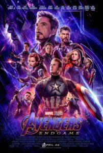 FIlm Poster: THE AVENGERS: ENDGAME