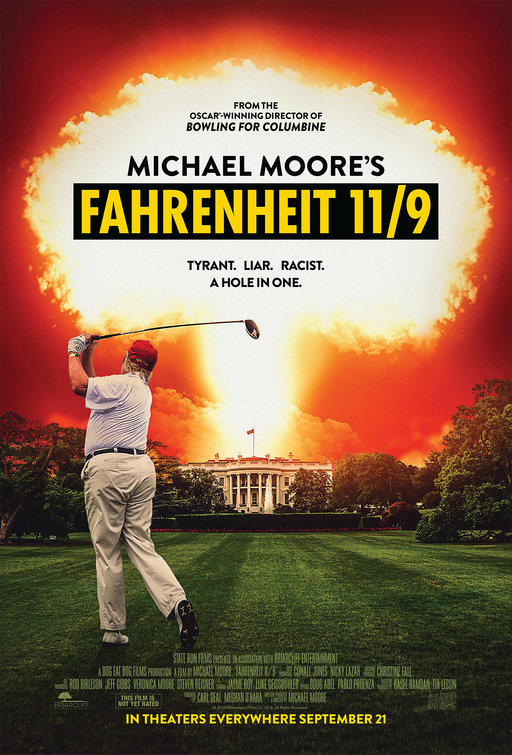 """Film poster: """"Fahrenheit 11/9"""""""