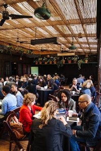 TFI's Network market – curated meetings with members of industry for its grantees during the Tribeca Film Festival.