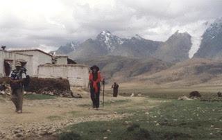 Victoria, trekking to Everest Base Camp