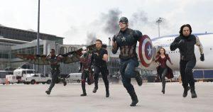 Film image from Captain America: Civil War