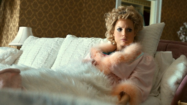 """Searchlight Pictures -In """"The Eyes of Tammy Faye,"""" Andrew Garfield and Jessica Chastain play Jim and Tammy Faye Bakker."""