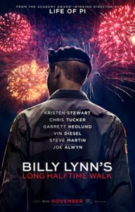 Film Poster: Billy Lynn's Long Halftime Walk