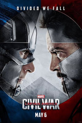 Movie Poster - Captain America: Civil War