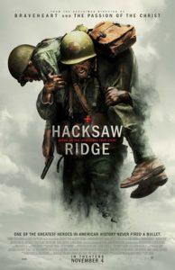 Film Poster: Hacksaw Ridge