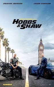 Film Poster: HOBBS & SHAW