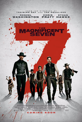 Film Poster: The Magnificent Seven (2016)
