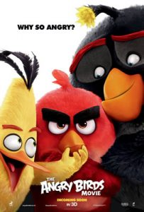 Film Poster: The Angry Birds Movie