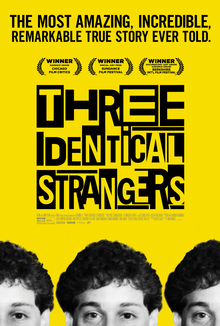 Film Poster: Three Identical Strangers