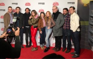 January 28th, 2019 - Park City, Utah - Cast and crew of THEM THAT FOLLOW at the Sundance Film Festival 2019 - Britt Poulton, Dan Madison Savage, Kaitlyn Dever, Alice Englert, Jim Gaffigan, Walton Goggins, Thomas Mann