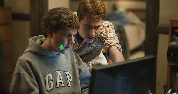 Image from THE SOCIAL NETWORK