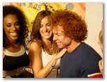 CineVegas11 - FFT Photo Coverage -- Mel B (left) - Carrot Top (right)