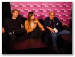 CineVegas11 - FFT Photo Coverage -- Cast and Director Naderi(far right) Vegas:Based On A True Story