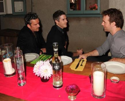 Balthazar, Dave Annable, and James Van Der Beek