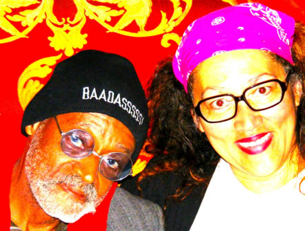 The 'Godfather of Independent Cinema', Baadasssss! and Me in a Psychedelic Moment - Photo by Alesia Massengale