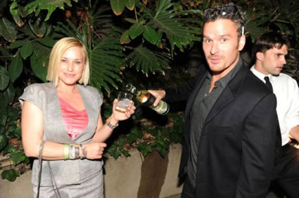 Patricia Arquette and Balthazar Getty